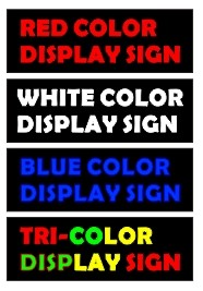 wireless led signs