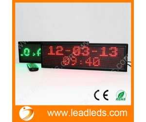 Indoor remote led sign board with high brightness accept custom sizes