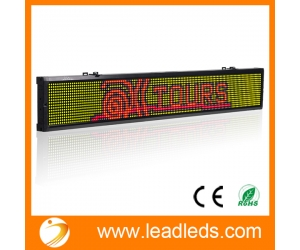 Usb Signs Programmable Amp Tricolor Led Signs Leadleds Com