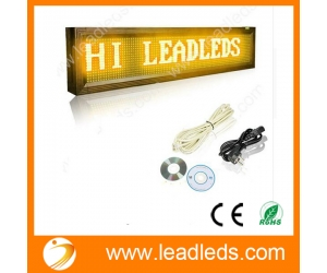 Outdoor Remote Control Led Display Scrolling Programmable