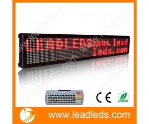 P7.62 INDOOR LED SIGNS BRIGHT PROGRAMMABLE SCROLLING MESSAGE DISPLAY