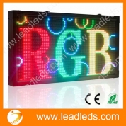 China 104*56cm RGB Full Color P10 Custom multi-line Outdoor Waterproof LED Message Sign Moving Scrolling led Display Board for shop factory