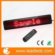 China Remote led display support global language and long view distance (LLDP762-Y760R) factory