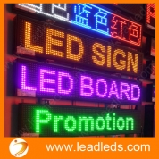 China LED advertising display accept custom sizes and colors with best visual and good quality factory