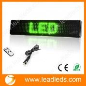 China DC 12V LED CAR Message Moving Scrolling Sign Display by Remote Sending Message factory