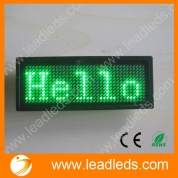 China Elegant fashion scrolling publicidad led scrolling badge USB programmable(LLD180-B1236) factory