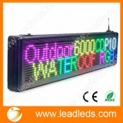 China Full Color Led Display Outdoor Waterproof iOS Android Program with Temperature Sensor factory