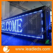 China Leadleds USB Programmable Advertising LED Display Sign Board, Available Different Sizes and Colors factory