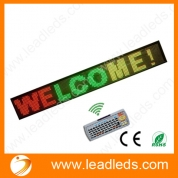 China Led Display Board 1-2 lines message wireless keypad program factory