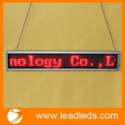 China Pixel 128x16 Scrolling Matrix LED Display for hanging factory