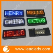 China New hot selling USB rechargeable technology mini led name card (LLD180-B729) factory