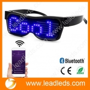 China Leadleds - Customizable Bluetooth LED Glasses for Raves, Festivals, Fun, Parties, Sports, Costumes, EDM, Flashing - Display Messages, Animation, Drawings! factory