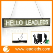 China Leadleds LED Display Panel Programmable for Business Open Home Salon Coffee, White Message factory