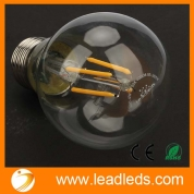 Кита Leadleds LED Filament Bulb A19, Vinatge Edison Style LED Bulb 4W E27 Soft White 2700k Non-Dimmable, Replace 40W Incandescent Bulb завод