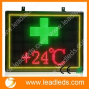 China Leadleds LED Pharmacy Open Sign Advertising Display Board for Medicine Drugstore Chemist Clinic factory