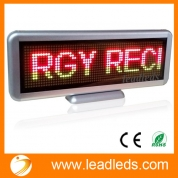 China Leadleds Multi Color Moving Led Display Board Scrolling Message Programmable widely Used for Business factory