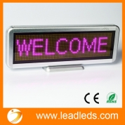 China Leadleds Scrolling Message Led Sign Display Board Rechargeable USB Programmable Used for business factory