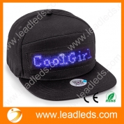 China Leadleds Sign Hats for Men Baseball Trucker Halloween Birthday New Year's Christmas Party Hat factory