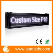 China Leadleds outdoor Led Sign Board LAN Scrolling Message Programmble Advertising Sign factory