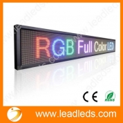 China Programmable colorful indoor led sign(LLDP10-1696RGB-I) factory