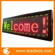 China Red/green/yellow color scrolling led text panel(different sizes avaiable) factory
