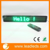China Universal Car LED Display 12V-24V Auto Remote led scrolling sign board factory