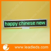 China world language support usb programmable  indoor led moving  desktop sign factory