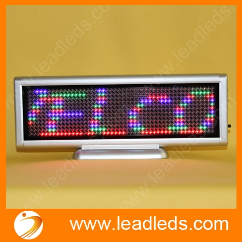 Usb Programmable Rechargeable Indoor Led Display Board
